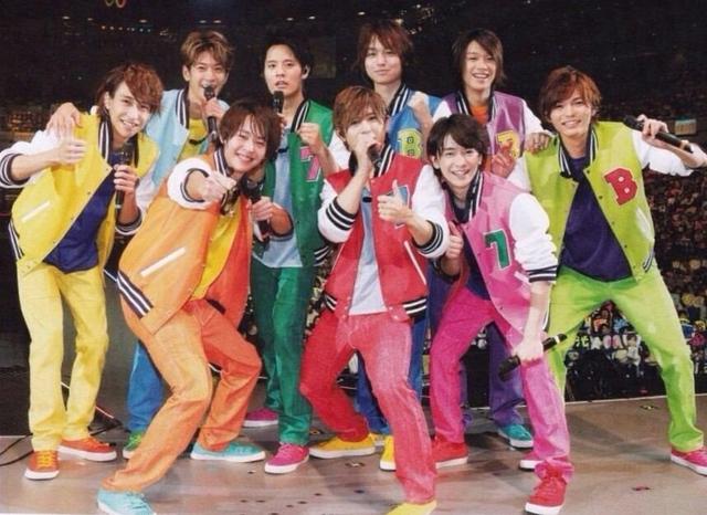 Hey!Say!JUMP メンバー カラー